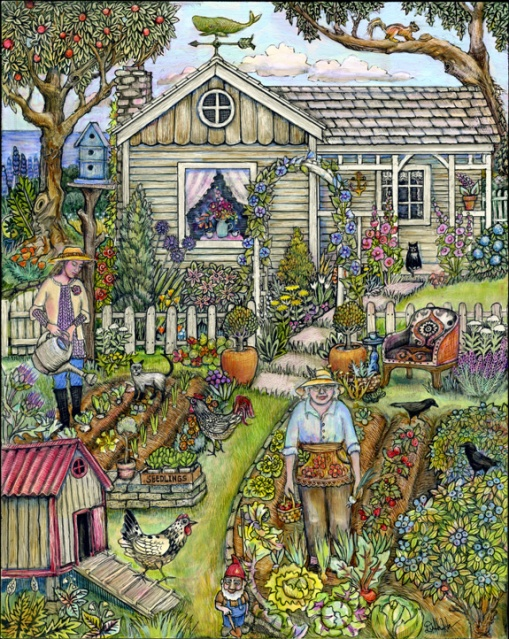 gardencrowscard